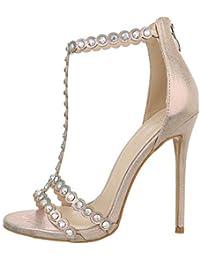 b574d2c709f39 Suchergebnis auf Amazon.de für: High Heels - Gold / Sandalen / Damen ...