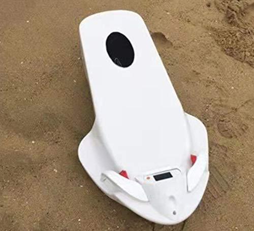 HYLH Le Scooter de mer sous l'eau, Le propulseur ABS électrique Surfant Le Scooter imperméable de propulseur de Plongeur de Piscine de plongée de propulseur imperméable Joue la Natation Enfants Blanc