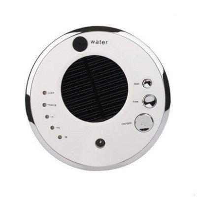VOSMEP Auto Ambientadores Purificador de Aire Casa Oficina Anión Humidificador Aroma Difusor Solar Quitar el Polvo, Bacteriana, Benceno y otras Sustancias Nocivas en el Aire Blanco CA6