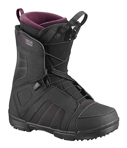 Salomon Damen Scarlet Snowboard Boots schwarz 25.5 -