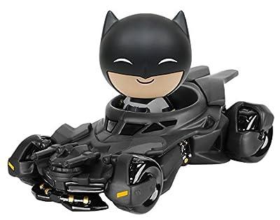 Dorbz Ridez Batman v Superman Batmobile & Vinyl Figure