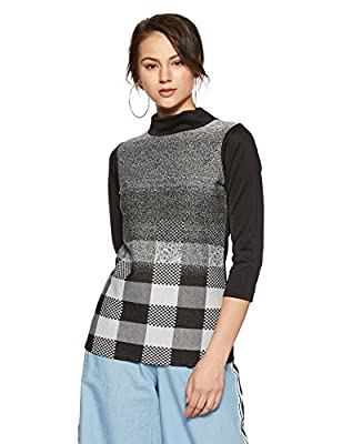 AND Women's Checkered Regular Fit Shirt