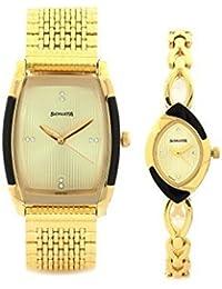 Sonata Analog Gold Dial Unisex Watch-70808069YM01
