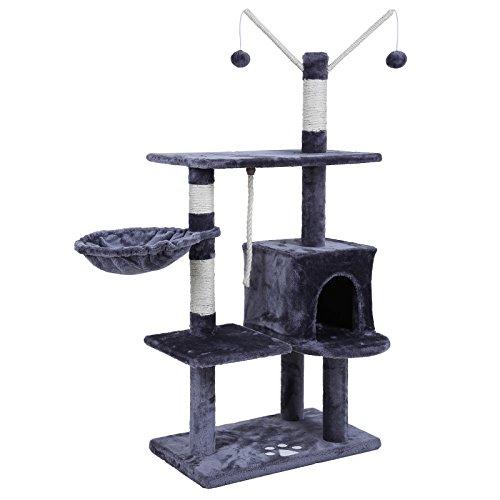songmics-arbol-para-gatos-rascador-con-nidos-plataformas-bolas-de-juego-gran-base-134-cm-pct35g