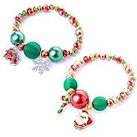 ألوديفاي عيد الميلاد مطرز سحر سوار عطلة مجوهرات هدايا للبنات النساء