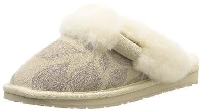 Emu Australia Womens Jolie Printed Slippers W10711 Sand 7 UK, 41 EU, Regular