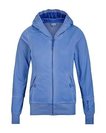 Bench Damen Sweatshirt Trikotjacke Bridgelands blau (amparo blue) Large