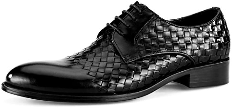 Herren Lederschuhe Frühlings Leder Schuhe der Männer Britische Art Männliche Geschäfts Formale Abnutzungs Breathable