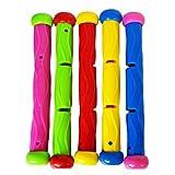 TOOGOO 5 Stücke Multi Farbe Tauch Stock Spielzeug Unterwasser Schwimmen Tauchen Bad Spielzeug Unter...