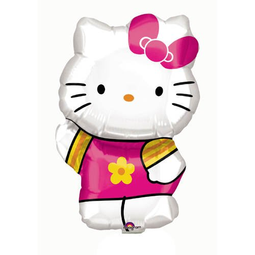 Globo Hello Kitty Summer Kitty aproximadamente 63 cm