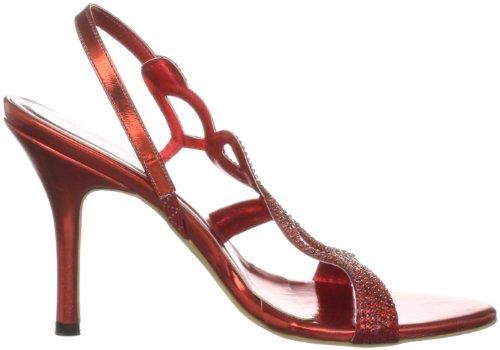 Unze Evening Sandals, Damen Sandalen Rot (L18182W)