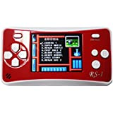 Hisonders RS-1 Handheld Game Console, 2.5 Inch LCD Classic 152 Games Player (152-Red)