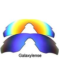 Galaxy Lentes De Repuesto Para Oakley M2 Frame azul rojo Polarizados 2  Pares - Transparente d12881b65a