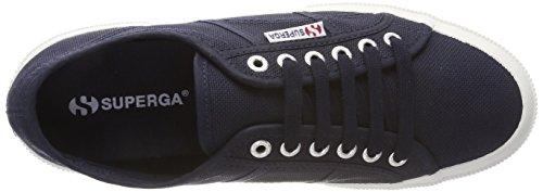 Superga Damen 2750-Plus Cotu Low-Top Blau (Navy-Offwhite)