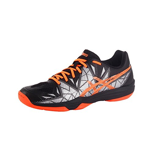 ASICS Gel-Fastball 3 Handballschuh Herren schwarz/orange, 9 US - 42.5 EU