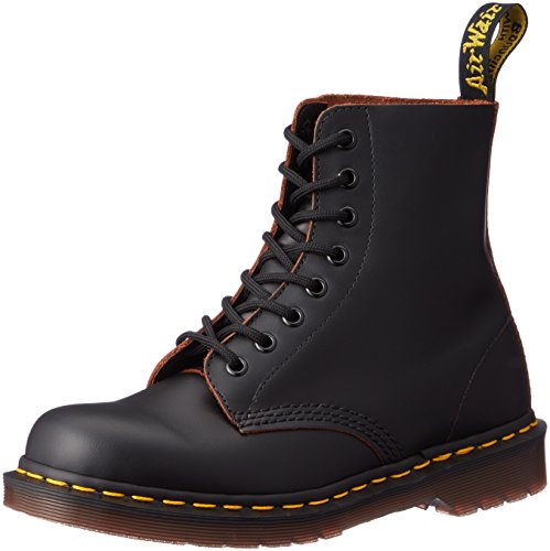 Dr. Martens 1460Z Vintage 8 Eye Boot BLACK Stivaletti, Unisex Adulto, Black, 42