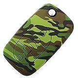 Schlüssel Hülle AA für 3 Tasten Auto Schlüssel Silikon Cover - Finest-Folia Etui Schutzhülle Schlüsselhülle (Camouflage)