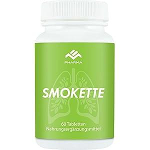Smokette – Endlich Nichtraucher + Rezeptfrei von MB Pharma Health für 1 Monat