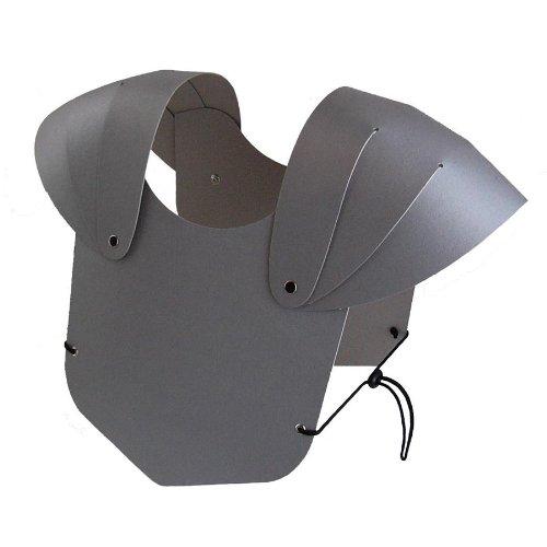BestSaller Kinder Brustpanzer, aus stabilen Karton, silber (1 Stück)