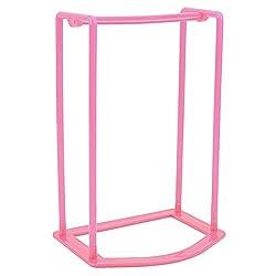 New Smart Design Clothes Hanger Stacker Holder Storage Organizer Rack (Pink)