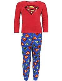 Pijama rojo y azul Superman