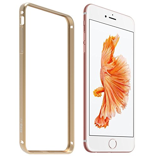 Mobbysol Bumper Case for Apple iphone 6/6S (Champagne Gold)