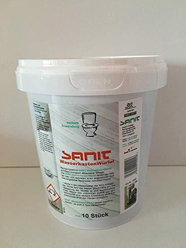 Sanit Wasserkastenwürfel im Sparset 2,3,4,5,10er Set inkl.Mehrzwecktuch pro Bestellung (5)