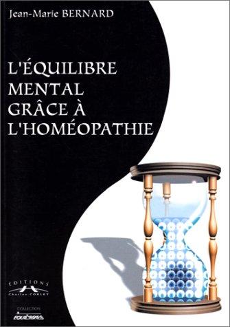 L'équilibre mental grâce à l'homéopathie