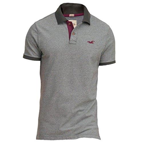 hollister-mens-stretch-contrast-pique-polo-shirt-tee-size-m-grey-624047456