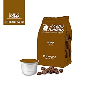 Purchase 100 capsules compatible Caffitaly - 100 Roma coffee capsules compatible coffee machine Caffitaly - Caffitaly coffee machine capsules compatible Roma coffee - Il caffè italiano from Il caffè italiano