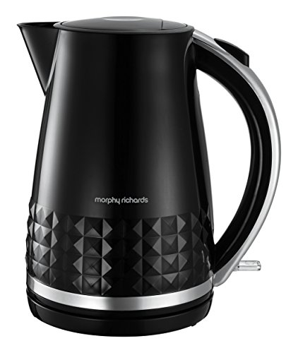 Morphy Richards 108261 Dimensions Jug Kettle, 1.5 Litre, 3100w, Black Best Price and Cheapest