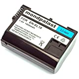 Qualitäts akku für Nikon EN-EL15 ENEL15 mit InfoChip - 7,0v / 1900mAh pour Nikon 1 V1 D500 D7200 D750 D600 / D7000 / D800 / D800E D810A / MB-D11 / MB-D12 / MB-D14 / D7100 / D7000 / D750