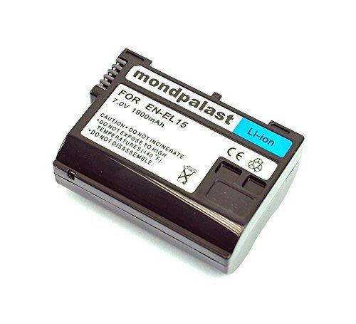 EN-EL15 ENEL15 Batería para Nikon D7100 D7000 D800 D800E D600 V1 MB-D11 MB-D12