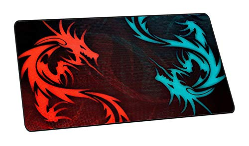 YWSZY-Mouse Pad 700 * 300 * 2 Größe Red Dragon Serie High Speed   Big Mousepad Großes Gaming-Mauspad Lockedge-Mauspad Tastatur-Pad @A -