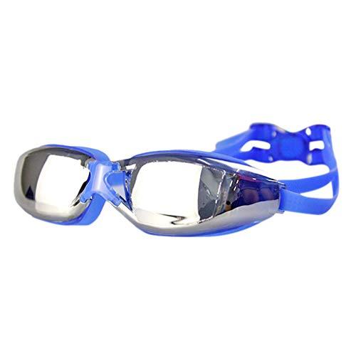 POIUDE Retro Sonnenbrille Damen Unisex Training Freizeit Schwimmbrille The One (UV-Schutz, Anti-Fog...
