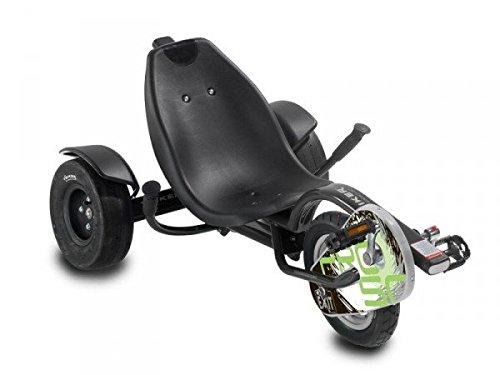 EXIT Triker Pro 50 Black 20.15.02.00 / Kinder Trike / 6 bis 12 Jahre / Max. 75 kg / Fahrergröße ab 120cm bis 160cm