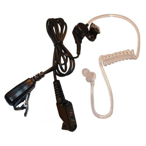 Akustikschlauch mit Inline Mikrofon und PTT für Icom Handhelds Ic-m88-handheld