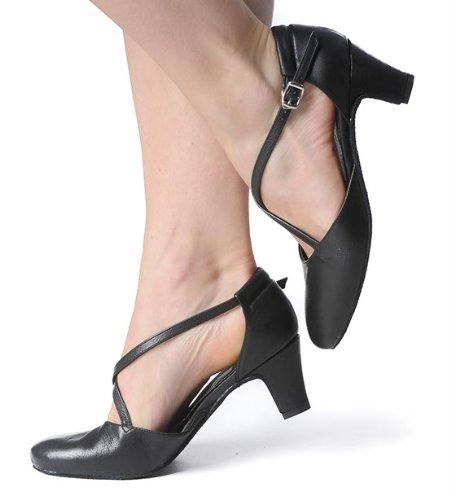Rumpf Tanzschuhe 2020 Broadway 5,0 cm Absatz schwarz,Schwarz,40 - 5
