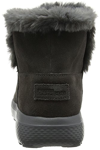 Skechers Women's On-The- On-The-Go City 2 Chukka Boots, Grey (Charcoal), 6 UK 39 EU