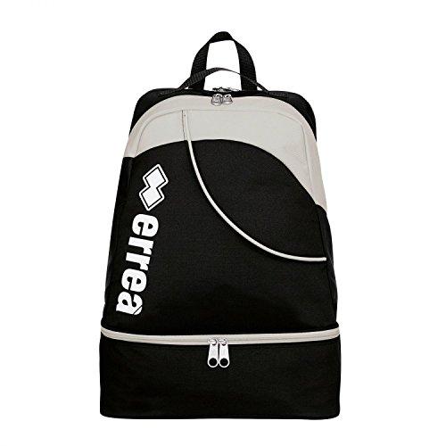 lynos gioventù per fotocamera · Universal Sport-Zaino con scomparto per scarpe, nero/grigio, Taglia unica