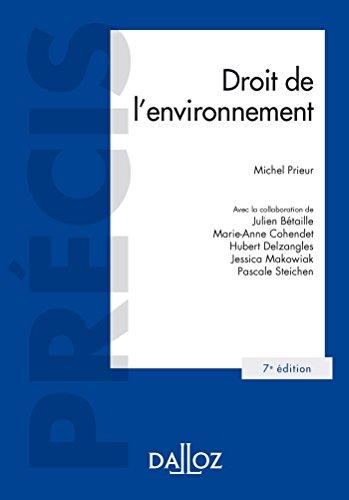 Droit de l'environnement - 7e d.