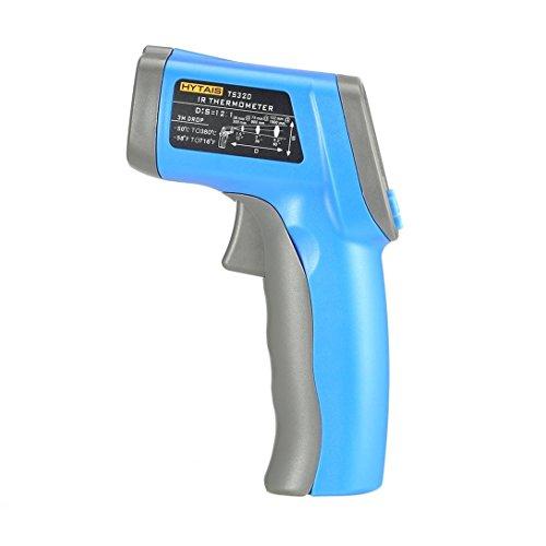 Berührungslose digitale Laser-Infrarot-Thermometer-Temperatur-Pistole -58 ºF- 716ºF (-50 bis 380 ° C) mit Laser-und LCD-Hintergrundbeleuchtung (blau)