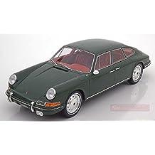 BOS MODEL BOS060 PORSCHE 911 S TROUTMAN & BARNES 1967 DARK GREEN 1:18 DIE CAST