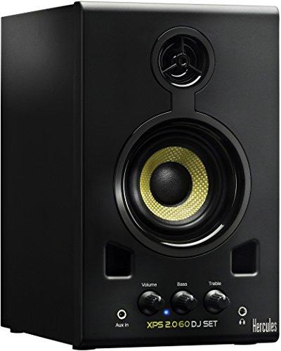 Hercules-Xps-20-60-Dj-Set-Coppia-di-Monitor-per-DJ-Nero