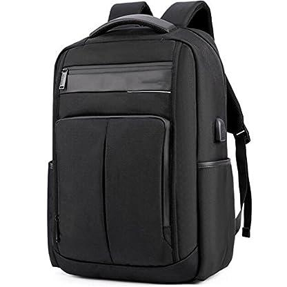 411RWe2MShL. SS416  - beibao shop Backpack - USB Moda Computadora Mochila 18 Pulgadas Computadora Compartimiento liviano Impermeable Antirrobo Hombre Mujer Ocio Negocios Computadora Mochila