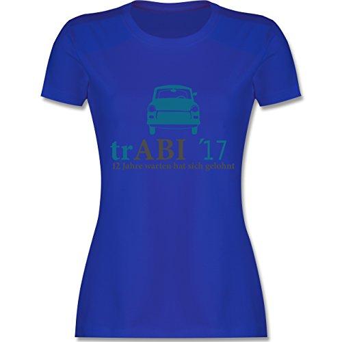Abi & Abschluss - trAbi 2017 - Oldtimer - tailliertes Premium T-Shirt mit Rundhalsausschnitt für Damen Royalblau