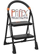 PAffy CP-M2 High Tensile Metal 2-Steps Folding Ladder