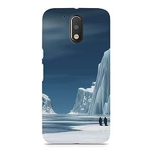 Hamee Designer Printed Hard Back Case Cover for Motorola Moto Z Design 2043