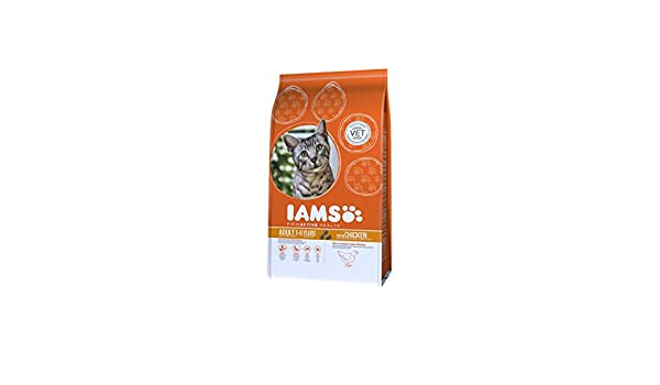 Iams Croquette au Poulet pour Chat Adulte 0,3 kg - Pack de 8  Amazon.fr   Animalerie 7c0cd5ec67e