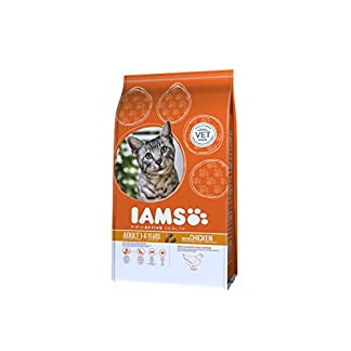IAMS Adult Dry Cat Food with Fresh Chicken, 3Kg 12
